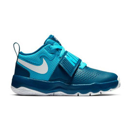 NIKE Team Hustle D8 (38,5/Grau)