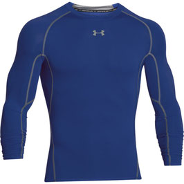 UNDER ARMOUR Heat Gear Kompression Longsleeve Royal / Steel