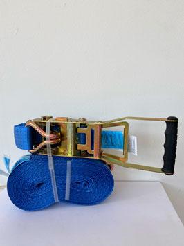 Zurrgurt blau 8mx50mm