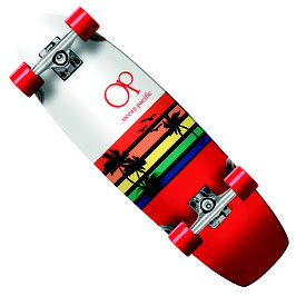 OCEAN PACIFIC SWELL CRUISER red white