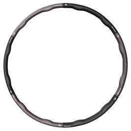 FITNESS Hula HOOP  1,1 kg - schwarz - grau
