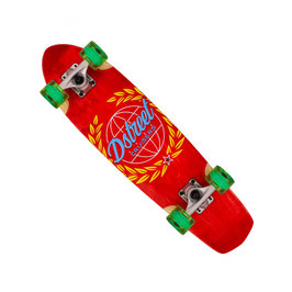 D STREET Mini Cruiser Atlas red