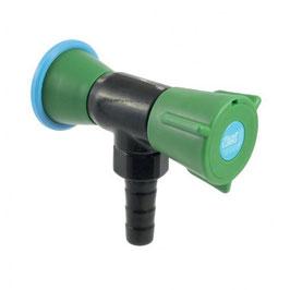 76005 - Nourrice simple sur embase pour eau potable, sur dosseret