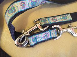 Dreifach verstellbare Leine - auf Wunsch auch im Set mit dem passenden Halsband