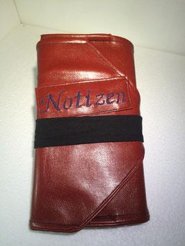 """Bucheinband """"Notizen"""""""