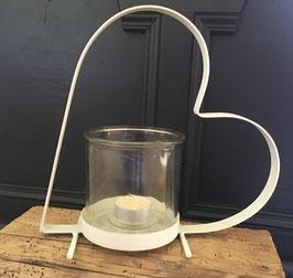 Herz-Teelichthalter