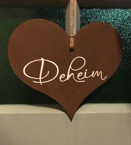 """Herz """"Deheim"""""""