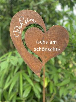 "Gartenstecker ""Deheim"""