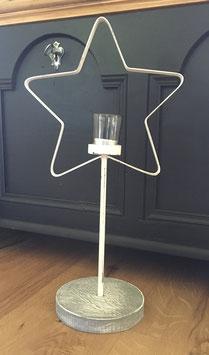 Stern-Teelichthalter