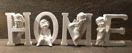 """""""Home"""" mit Engelsbuchstaben"""