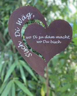 "Gartenstecker ""S'isch Di Wäg"""