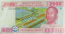 中央アフリカ通貨連合 カメルーン共和国 未使用