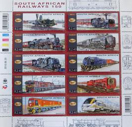 南アフリカ共和国 鉄道切手