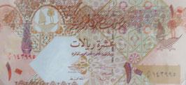 カタール国10 未使用