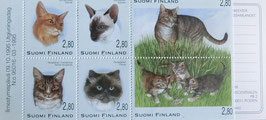 フィンランド記念切手