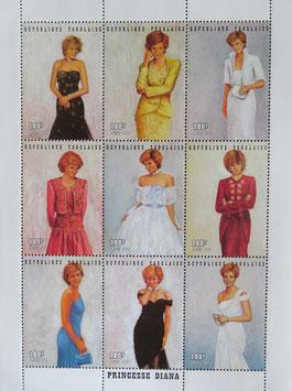 ダイアナのドレス トーゴ共和国