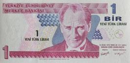 トルコ中央銀行 未使用
