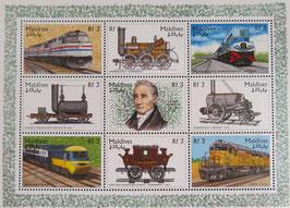 電車の開発者  モルジブ共和国