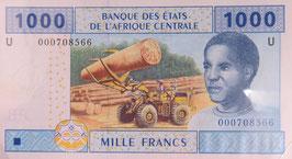 中央アフリカ カメルーン共和国 未使用