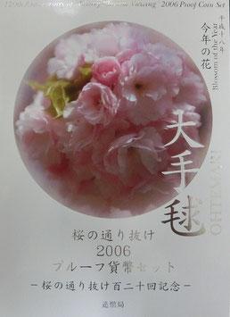 桜の通り抜け2006プルーフ貨幣セット