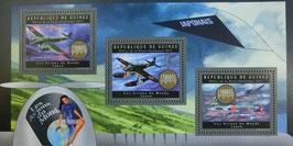 ギニア共和国  飛行機切手