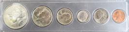 アメリカコイン(ピース・ケネディ・ワシントン・ルーズベルト)銀貨その他2点
