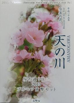 桜の通り抜け2013プルーフ貨幣セット