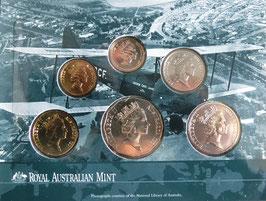 オーストラリア造幣局ミントセット 1997年