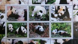タジキスタン記念切手