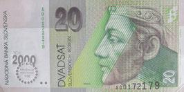 スロバキア共和国2000年ミレニアム記念紙幣 未使用