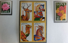 愛の切手・回転木馬・愛の切手
