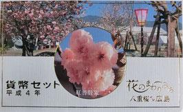 花のまわりみち八重桜イン広島貨幣セット平成4年