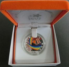 2007年ユニバーサル技能五輪国際大会 千円銀貨幣プルーフセット