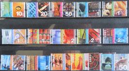 普通切手中西文化 16種