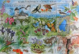 チェコ記念切手8種類の切手