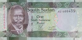南スーダン共和国 未使用