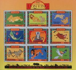 ウガンダ記念切手