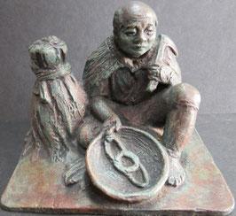 江戸時代の鋳物 幅10×8高さ8,5cm