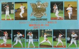 福岡ダイエーホークス貨幣セット2003年