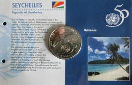 セーシェル記念コイン1995年