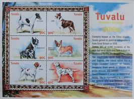 ツバル(イギリス)記念切手
