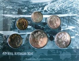 オーストラリア造幣局ミントセット1997年