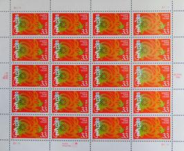 アメリカ切手 0.33×20=
