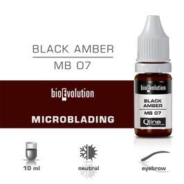 MB07 Black Amber - Chatain foncé