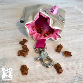 Leckerlibeutel Perlmutt Rosa
