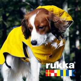 Rukka Pets Stream Regenmantel - gelb