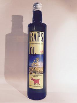 Raps-Öl kaltgepresst, naturbelassen, 500 ml