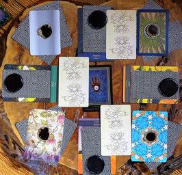 Orakel Tarot Medizinrad 20 Karten (groß) Spirit Kartenlegen