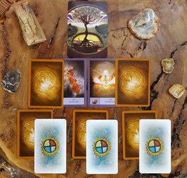 Orakel Lebensbaum 9 Karten Schamanisches Ahnen Ancestor Spirit