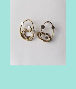 Iota Earrings Medium